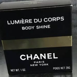 New Chanel Pink Body Shine shimmer make up